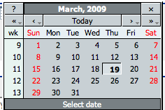 Date Time Picker Competitive Analysis - Infusion v1 3
