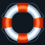 a graphic of a lifesaver
